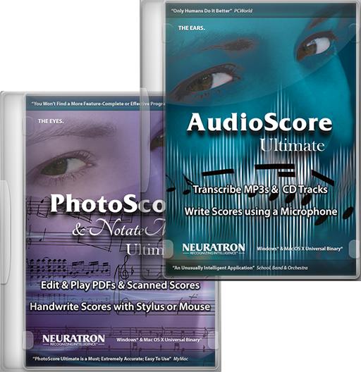 AudioScore & Photoscore Ultimate Bundle