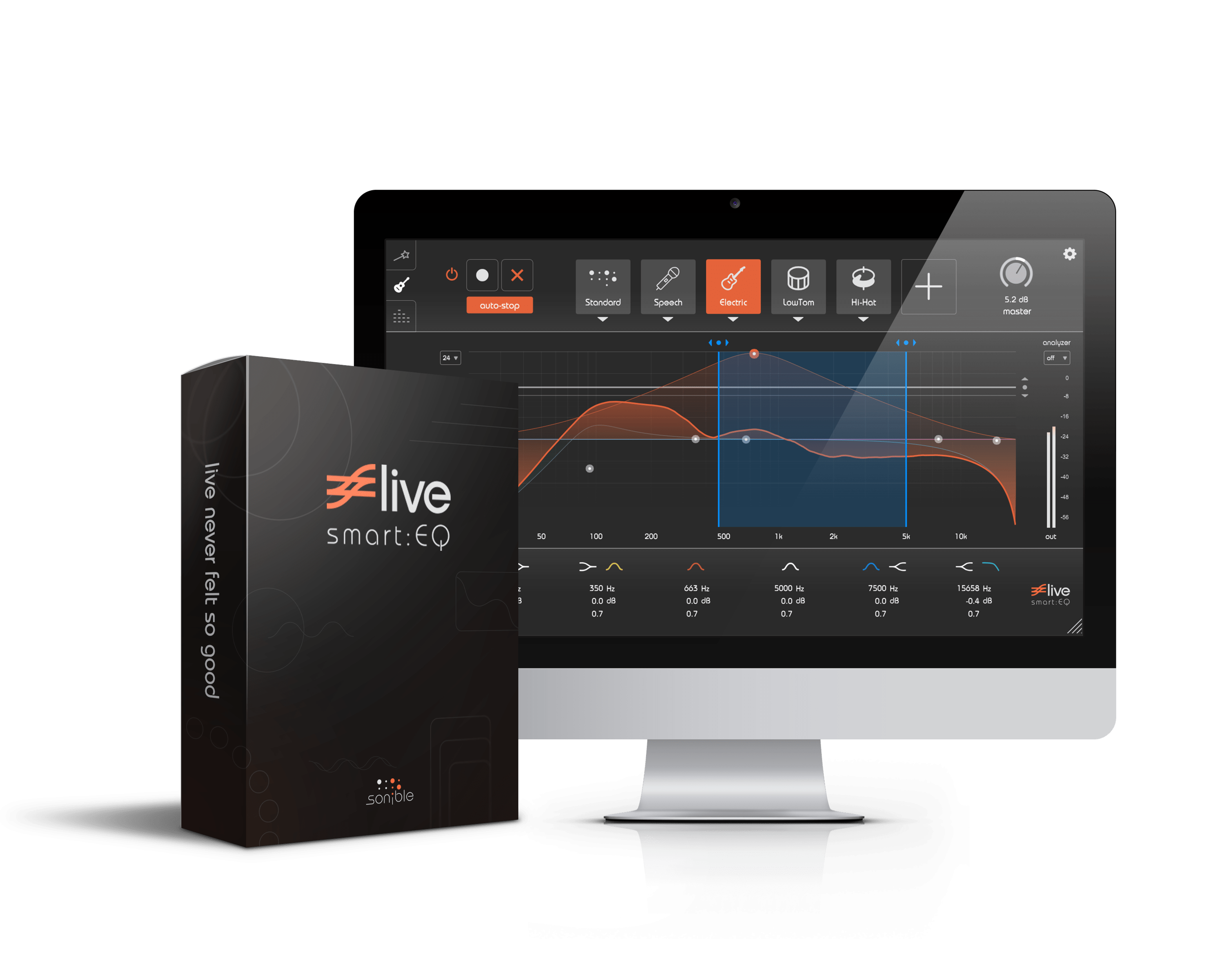 Sonible smart:EQ live