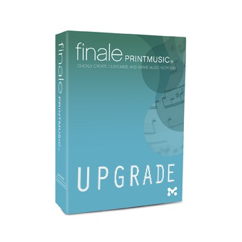 PrintMusic 2014 upgrade
