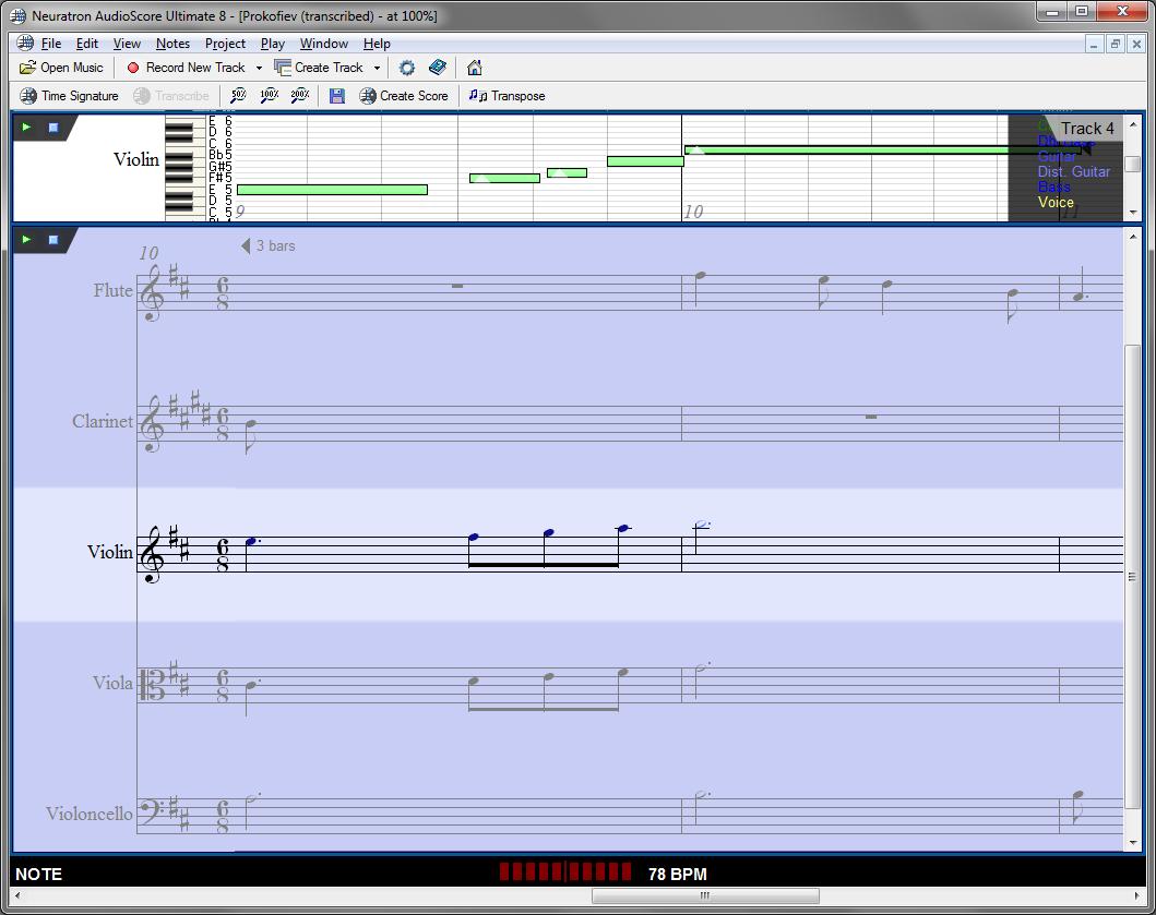AudioScore