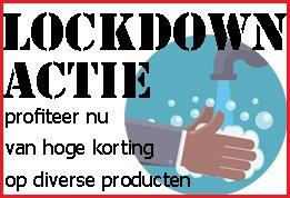Lockdown actie